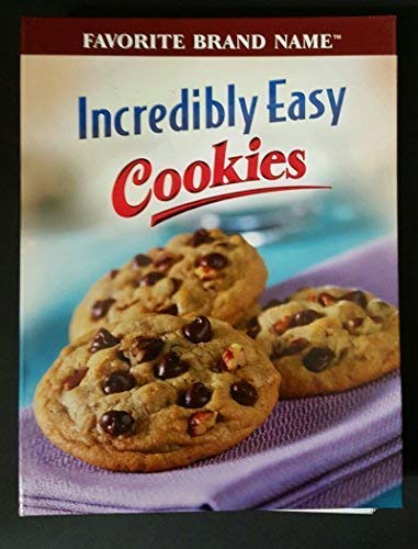 9781412723527: Incredibly Easy Cookies