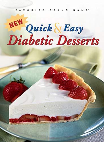 9781412723718: New Quick & Easy Diabetic Desserts