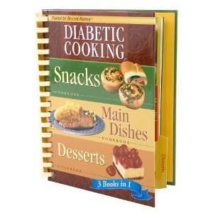 9781412726276: Diabetic Cooking 3 Books in 1: Snacks, Main Dishes, Desserts