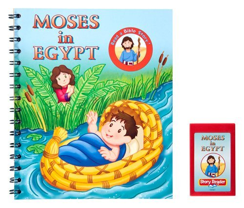 Story Reader Bible Book: Moses in Egypt: n/a