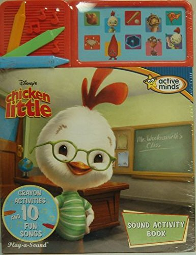 Disney's Chicken Little Sound Activity Book (Crayon Activities and 10 Fun Songs): Publications...