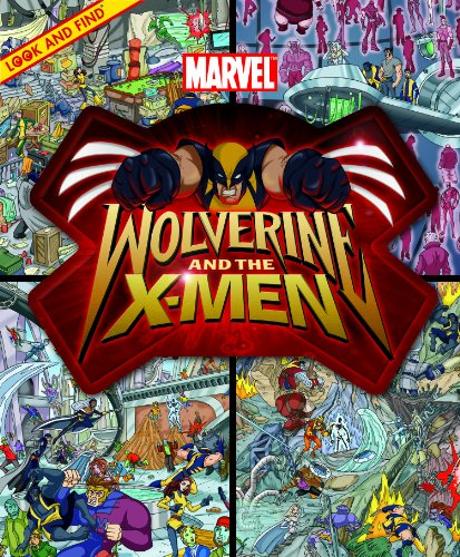 Look and Find Marvel Wolverine and the X-Men