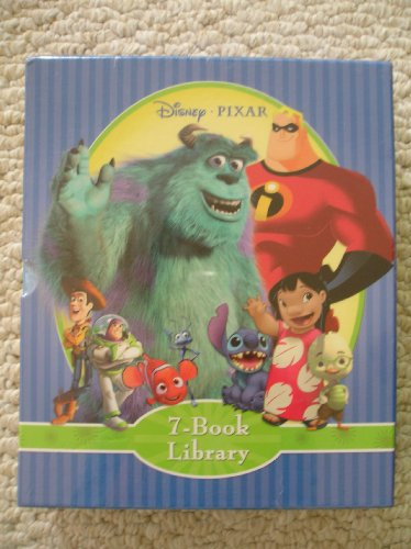 9781412738392: Disney Pixar 7 Book Library Set (Toy Story 2, The Incredibles, A Bug's Life, Lilo & Stitch, Monsters, Inc., Finding Nemo, Chicken Little)