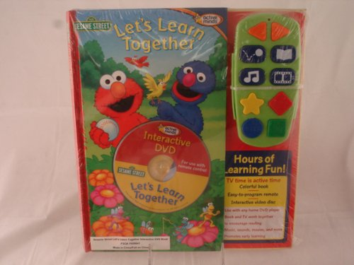 9781412739566: Sesame Street Let's Learn Together Interactive DVD Book