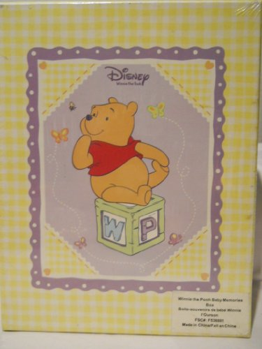 9781412740524: Disney Winnie the Pooh Baby Memories Box