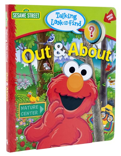 9781412744669: Talking Look and Find: Sesame Street, Out & About