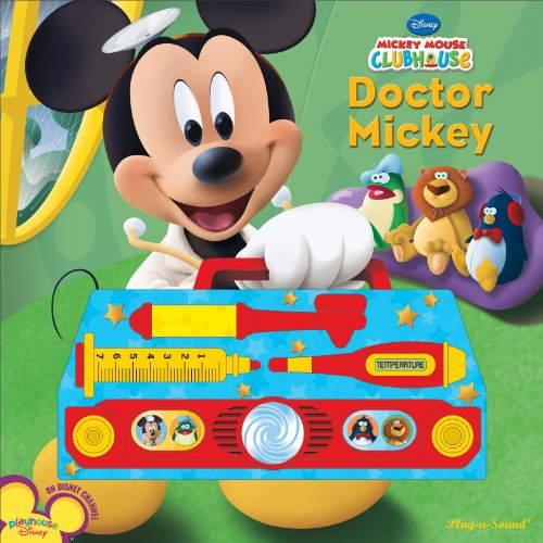Mickey Mouse Clubhouse: Doctor Mickey (1412746019) by Editors of Publications International Ltd.; Susan Rich Brooke