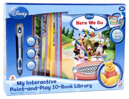 9781412746397: My Interactive Point-and-Play with Disney 10-Book Library (blue box) (Point-and-Play)