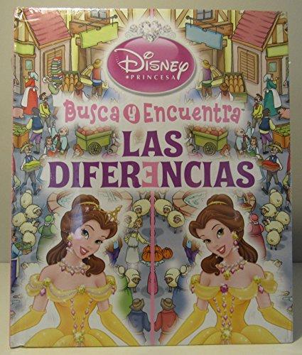 BUSCA Y ENCUENTRA LAS DIFERENCIAS - DISNEY PRINCESA