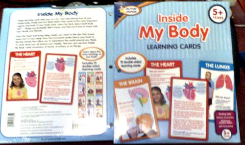 9781412748322: Active Minds Inside My Body Learning Cards Heart Lungs Liver Anatomy