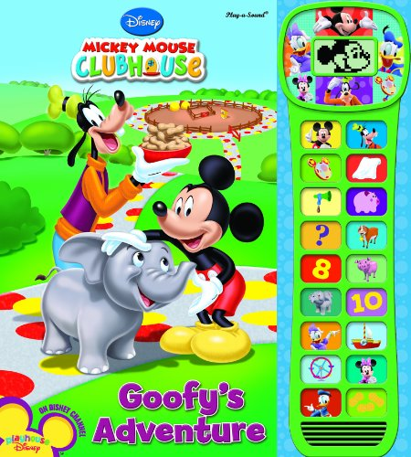 9781412753678: Mickey Mouse Clubhouse Video Play-a-Sound Book
