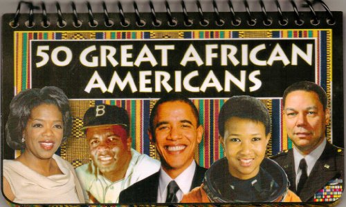 50 Great African Americans (2009, Paperback)
