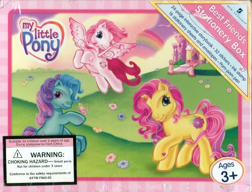 9781412757058: My Little Pony Best Friends Stationary Box