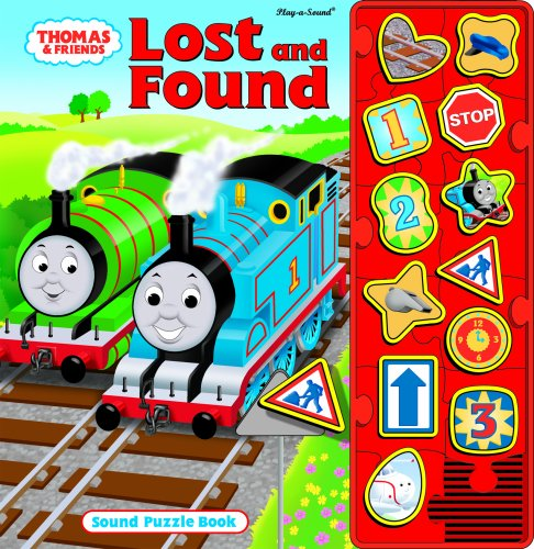 Thomas the Tank Engine : Lost and Found : Sound Puzzle Book: Publications International