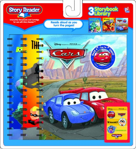 Story Reader 3 Pack:Monster Inc,The Incredibes and Cars.: Editors of Story Reader