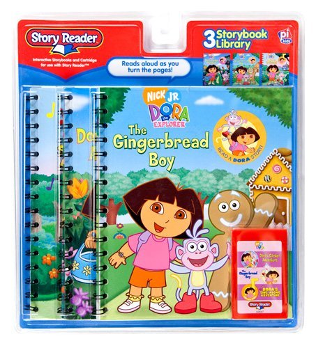 9781412762847: Story Reader 3-Book Dora the Explorer Library: Dora's Garden Adventure; The Gingerbread Boy; Dora's Sing Along Adventure