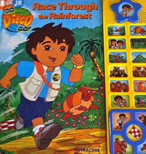 Race through the Rain Forrest(Go Diego Go): Ron Zalme, Rosemary