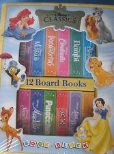 12 Livres Cartonnes Rigides (Disney Classics): walt disney classics