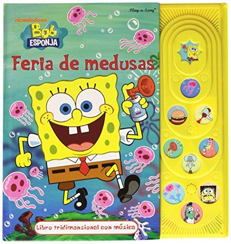 9781412766579: Bob Esponja feria de medusas / tridimensional con música
