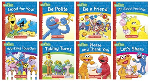 Working Together My First Manners Sesame Street: sesame street