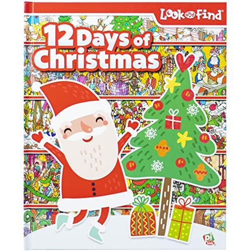 Look and Find: The Twelve Days of Christmas (1412768276) by Editors of Publications International Ltd.