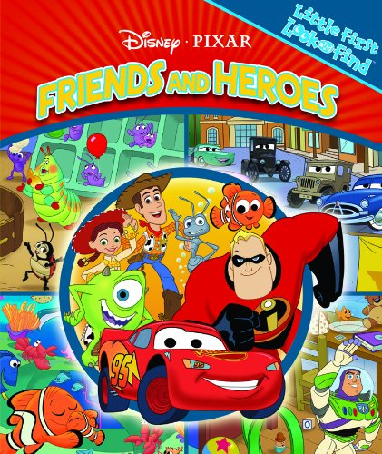 First Look and Find: Disney Friends and Heroes (9781412768481) by Editors Of Publications International Ltd.