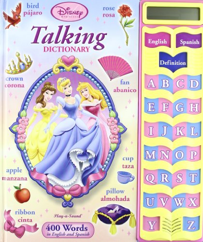 9781412768719: Disney Princess Talking Dictionary (Bilingual - English/Spanish)