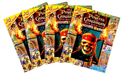 9781412769808: Mini Look and Find 4-Pack: Pirates of the Caribbean, Dead Man's Chest