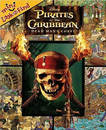Disney Pirates of the Caribbean Mini Look and Find