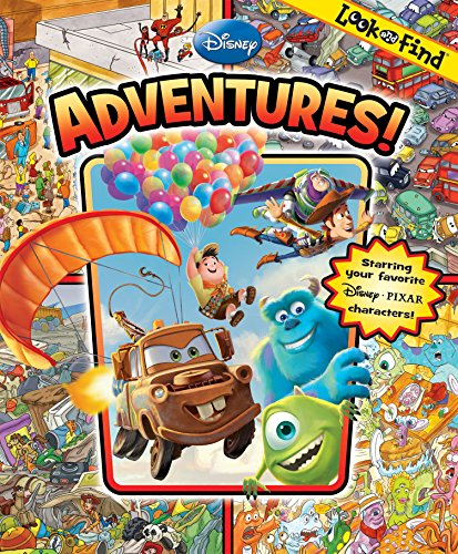 9781412771467: Look and Find Disney Pixar Adventures