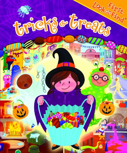 9781412772129: First Look and Find: Tricks & Treats