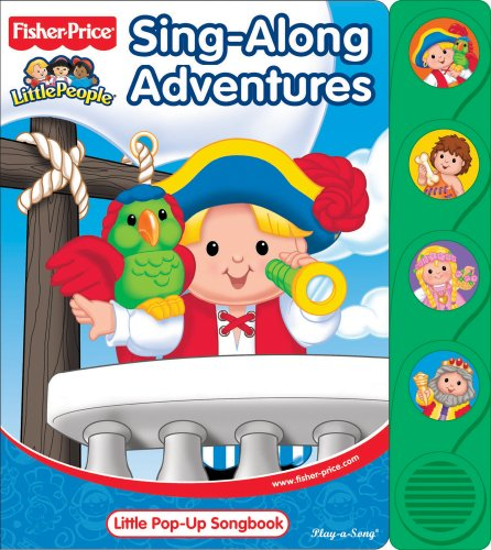 9781412774116: Sing-Along Adventures: Little Pop-Up Songbook (Play-A-Song)