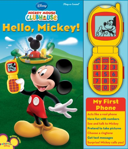9781412775106: Hello, Mickey! [With My First Phone] (Disney Mickey Mouse Clubhouse)