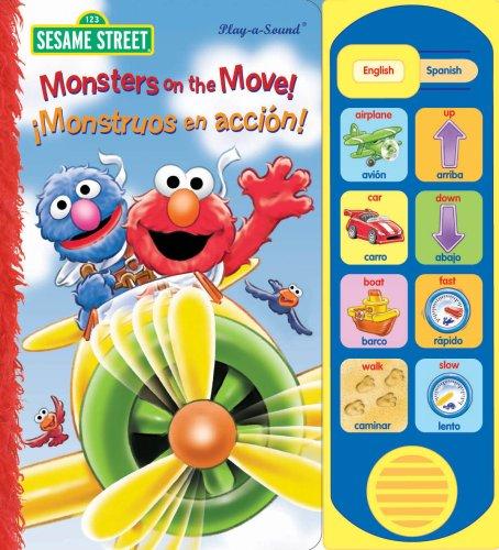 9781412775939: Monsters on the Move!/!Monstruos En Accion! (Sesame Street (Publications International))