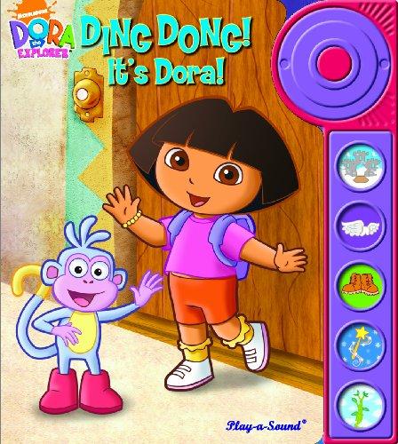 9781412775984: Play-a-Sound: Dora the Explorer, Ding Dong! It s Dora!