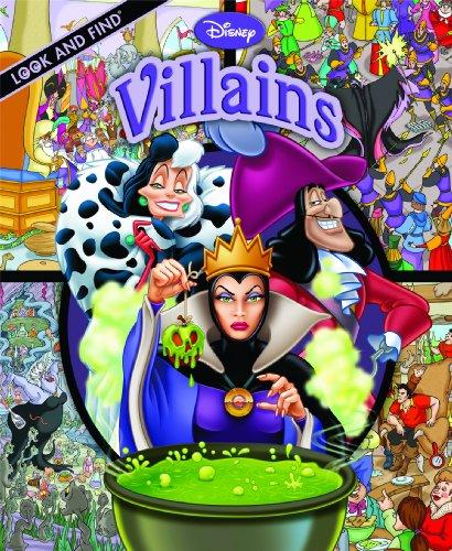 Look and Find: Disney Villains: Editors of Publications International; Ltd.