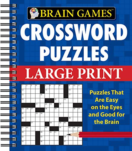 9781412777612: Brain Games Crossword Puzzles Large Print (Brain Games (Unnumbered))