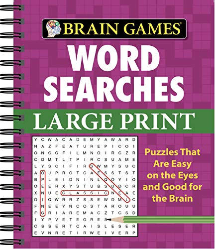 9781412777629: Brain Games® Word Searches - Large Print