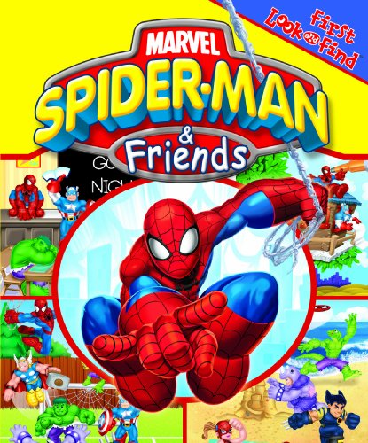 First Look and Find: Marvel Spider-Man & Friends