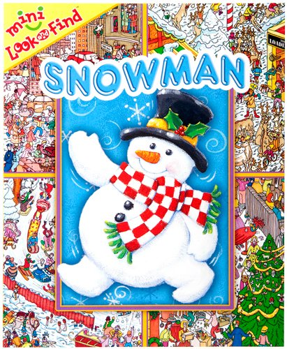 9781412778800: Mini Look and Find: Snowman (Look and Find)