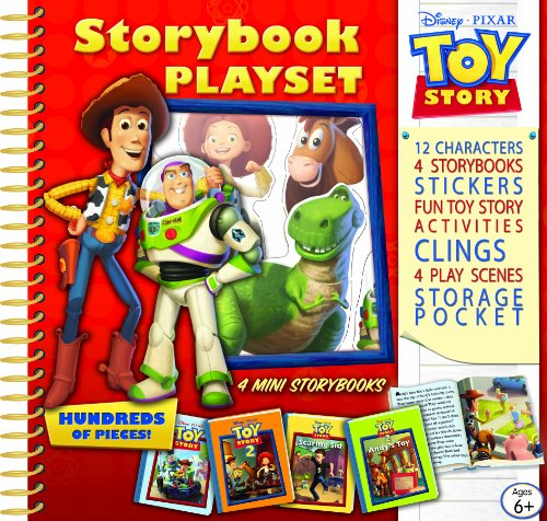 Toy Story Storybook Playset (Disney Pixar Toy Story) (1412779030) by Editors of Publications International Ltd.