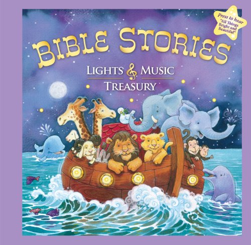 9781412779111: Bible Stories Lights & Music Treasury by Editors of Publications International Ltd. (2010-02-15)