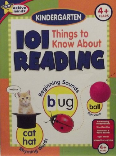 9781412783309: Active Minds: 101 Things To Know About Reading (4+ Years)