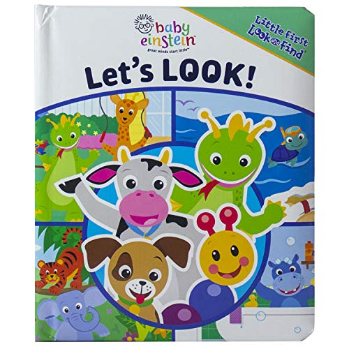 9781412784368: Baby Einstein Let's Look Board Book (Little First Look and Find)