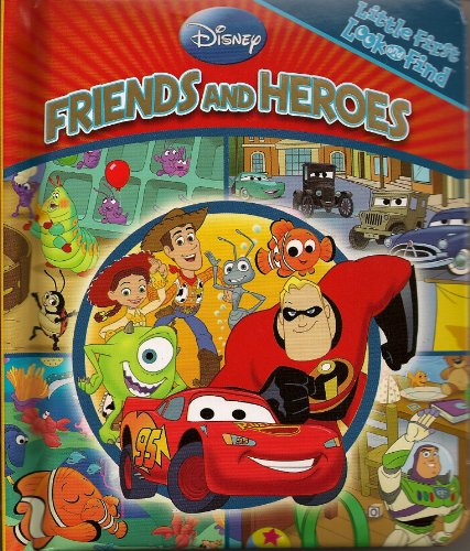 9781412784474: Disney Friends and Heroes (Little First Look and Find)