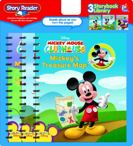 9781412784566: Story Reader: Mickey Mouse Clubhouse 3 Storybook Library