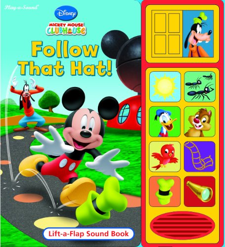 9781412784573: Follow That Hat! (Disney Mickey Mouse Clubhouse Play a Sound)