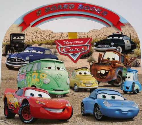 Disney Pixar Cars Set of 8 Board: Disney Pixar