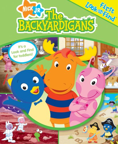 The Backyardigans (My First Look & Find): Spathis, Joanna