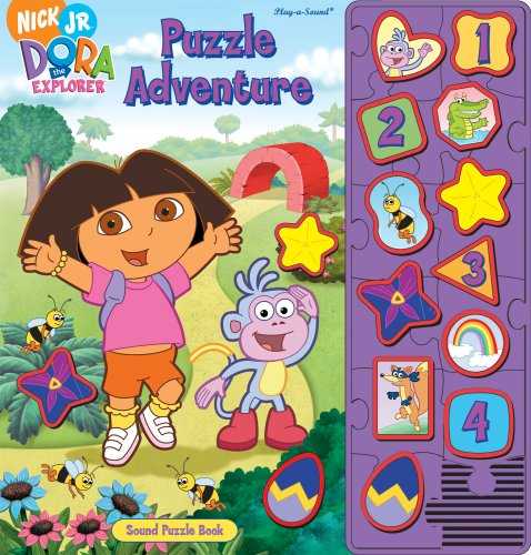 Puzzle Adventure [With 12 Removable Puzzle Pieces] (Dora the Explorer (Publications International)) (141278722X) by Susan Rich Brooke